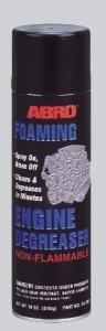 ABRO Очиститель двигателя пенный