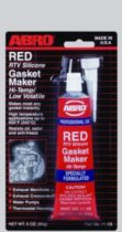 ABRO Герметик прокладок высокотемпературный (Красный)