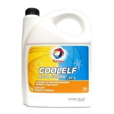 Антифриз TOTAL COOLELF AUTO SUPRA -37°С