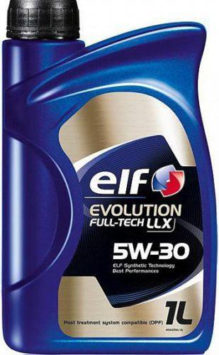 Масло моторное синтетическое ELF EVOLUTION FULLTECH LLX 5W-30
