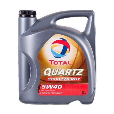Синтетическое моторное масло TOTAL QUARTZ 9000 ENERGY 5W-40