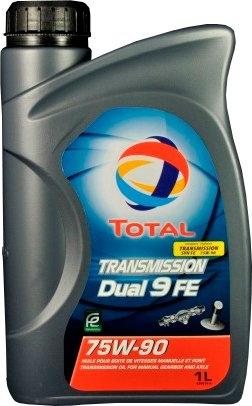 Масло трансмиссионное TOTAL TRANSMISSION DUAL 9 FE 75W-90