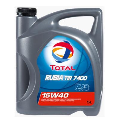 Моторное масло TOTAL RUBIA TIR 7400 15W-40