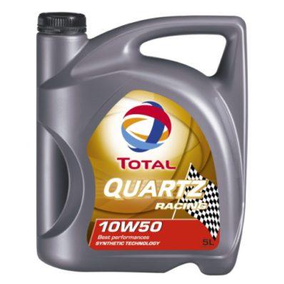 Синтетическое моторное масло TOTAL QUARTZ RACING 10W-50