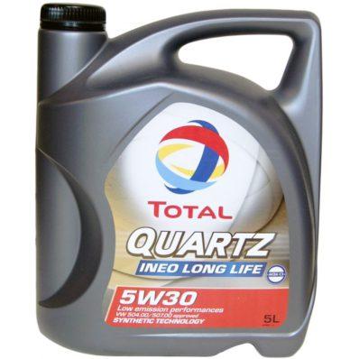 Масло синтетическое моторное TOTAL QUARTZ INEO LONG LIFE 5W-30