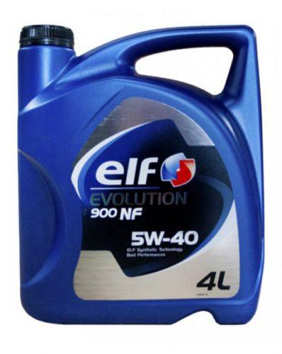 Масло моторное синт. ELF EVOLUTION 900 NF 5W-40