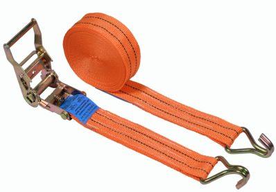 Ремень стяжной с крюками, 2.0/4,0 тонны, 50 мм, полипропилен
