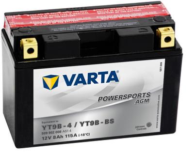 Аккумулятор VARTA POWER SPORTS AGM  509 902 008 A514