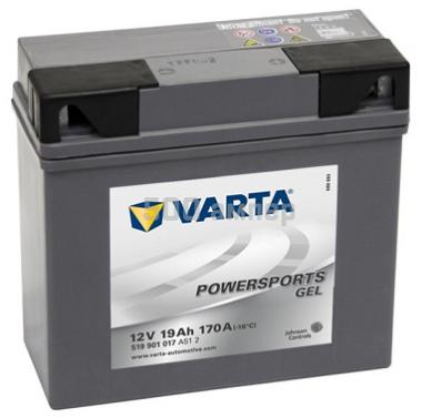 Аккумулятор VARTA POWER SPORTS GEL 519 901 017 A512
