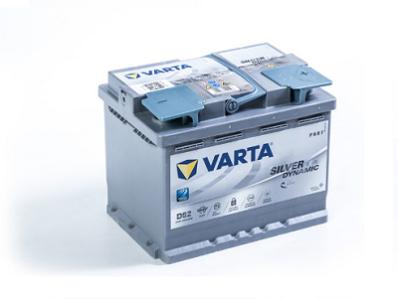 Аккумулятор VARTA SILVER DYNAMIC AGM  560 901 068  D52