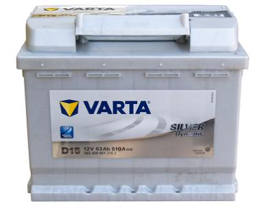 Аккумулятор VARTA SILVER DYNAMIC  563 400 061  D15