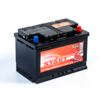 Аккумулятор EXTRA START 6СТ-74N R+ (L2)