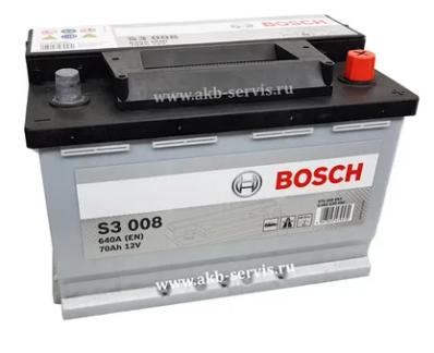 Аккумулятор BOSCH S3 570 409 064 S30 080