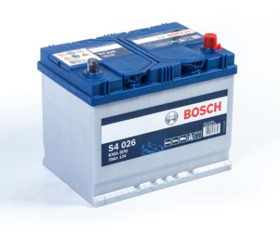 Аккумулятор BOSCH S4 SILVER 570 412 063 S40 260