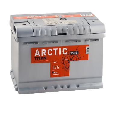 Аккумулятор TITAN ARCTIC 6CT-75.0 VL
