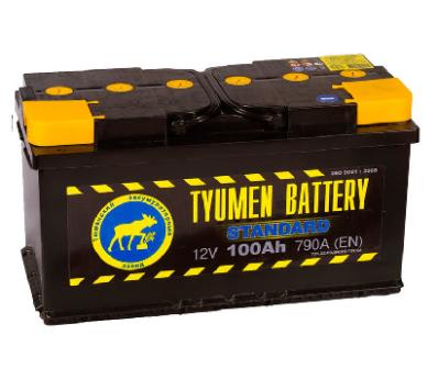 Аккумулятор Тюмень 100 Ah  STANDART (+R)