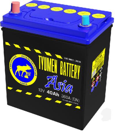 Аккумулятор Тюмень 44 Ah  STANDART (+L)