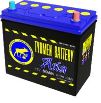 Аккумулятор Тюмень 50 Ah ASIA  (+R)