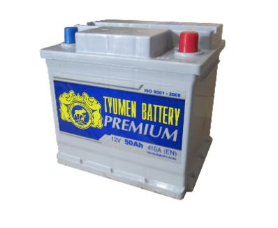 Аккумулятор Тюмень 50 Ah  PREMIUM (+R)
