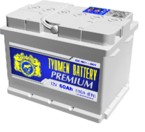 Аккумулятор Тюмень 60 Ah  PREMIUM (+R)