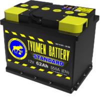 Аккумулятор Тюмень 62 Ah  STANDART (+R)