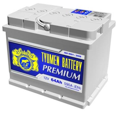 Аккумулятор Тюмень 74 Ah  PREMIUM (+R)
