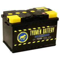 Аккумулятор Тюмень 70 Ah  STANDART (+R)