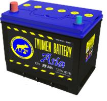 Аккумулятор Тюмень 95 Ah ASIA  (+L)