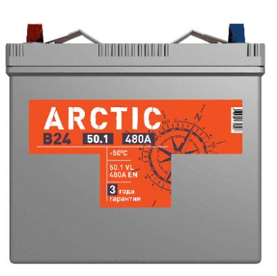 Аккумулятор TITAN ARCTIC ASIA 6СТ-50.1 VL B00
