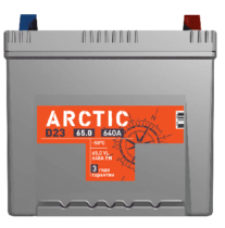 Аккумулятор TITAN ARCTIC ASIA 6СТ-65.0 VL B01