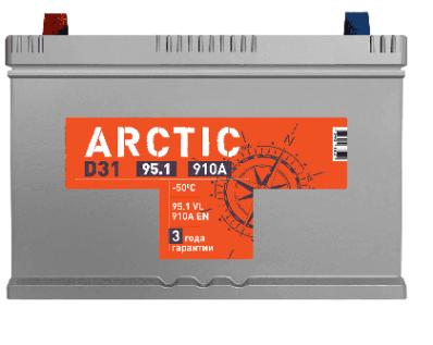 Аккумулятор TITAN ARCTIC ASIA 6СТ-95.1 VL B01
