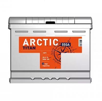 Аккумулятор TITAN ARCTIC 6CT-55.1 VL