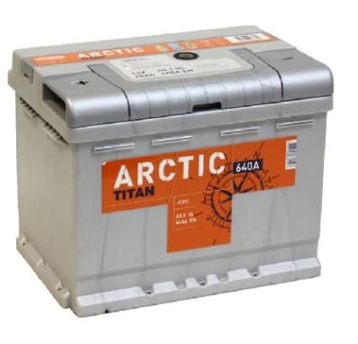 Аккумулятор TITAN ARCTIC 6CT-60.1 VL