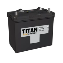 Аккумулятор TITAN ASIA STANDART 6СТ-50.0 VL