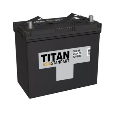 Аккумулятор TITAN ASIA STANDART 6СТ-62.0 VL B01