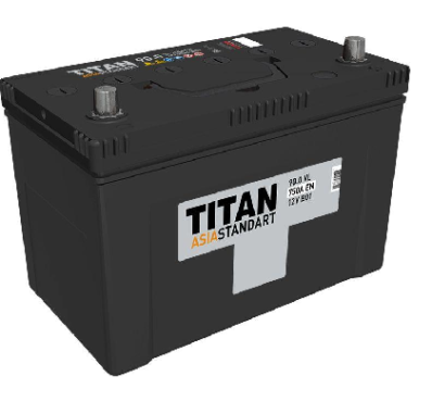 Аккумулятор TITAN ASIA STANDART 6СТ-90.1 VL B01