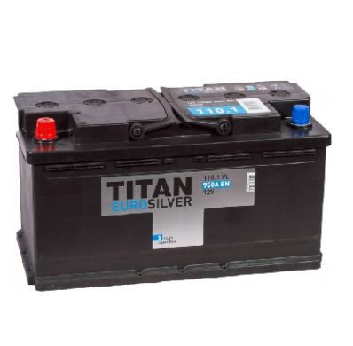Аккумулятор TITAN EUROSILVER 6СТ-110.1 VL