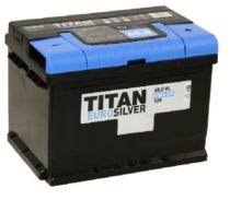 Аккумулятор TITAN EUROSILVER 6CT-60.0 VL (низкая)