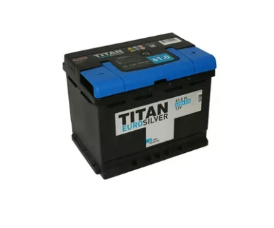 Аккумулятор TITAN EUROSILVER 6CT-61.0 VL