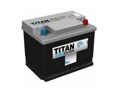 Аккумулятор TITAN EUROSILVER 6CT-63.0 VL