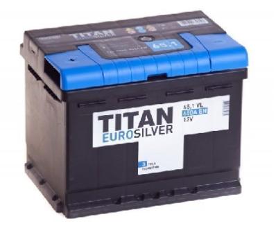 Аккумулятор TITAN EUROSILVER 6CT-65.1 VL