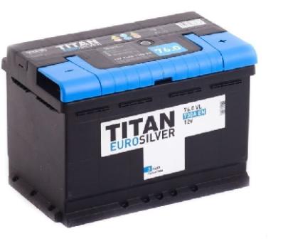 Аккумулятор TITAN EUROSILVER 6CT-76.0 VL