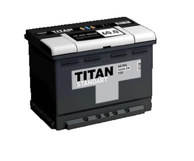Аккумулятор TITAN STANDART 6CT-60.0 VL