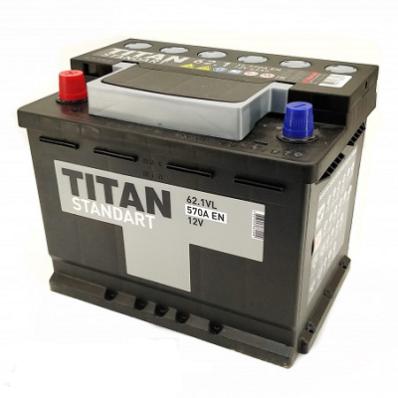 Аккумулятор TITAN STANDART 6CT-62.1 VL