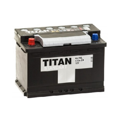 Аккумулятор TITAN STANDART 6CT-66.1 VL