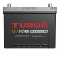 Аккумулятор TUBOR ASIA SILVER 6СТ-77.1 VL B01