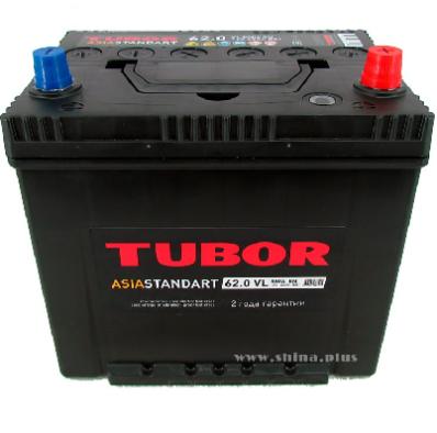 Аккумулятор TUBOR ASIA STANDART 6СТ-62.0 VL B01