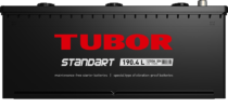 Аккумулятор TUBOR STANDART 6СТ-190.4 L
