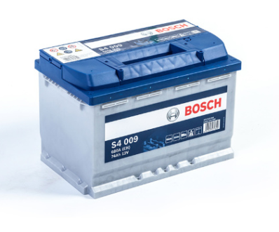 Аккумулятор BOSCH S4 SILVER  574 013 068 S40 090