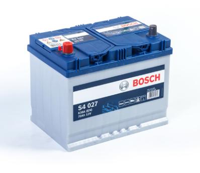 Аккумулятор BOSCH S4 SILVER  570 413 063 S40 270